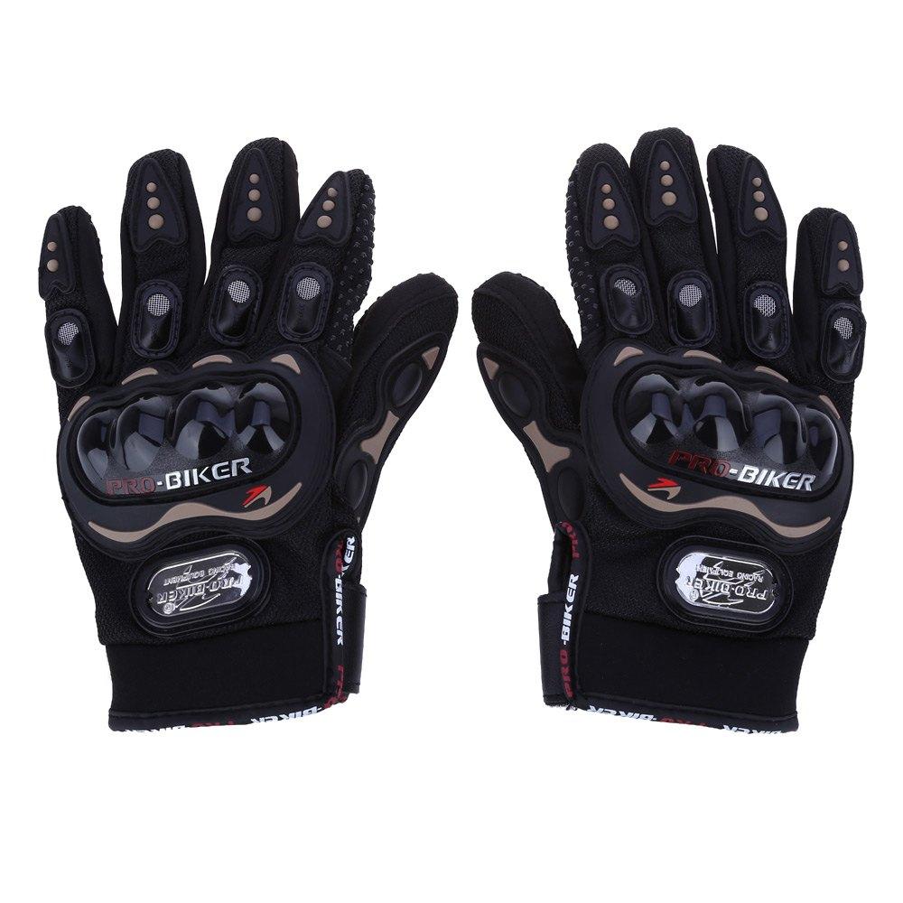 Motorcycle gloves half finger - Summer Winter Full Finger Motorcycle Gloves Gants Moto Luvas Motocross Leather Motorbike