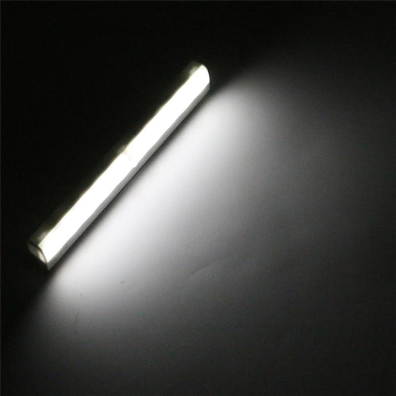 1pc LED Cabinet Closet Light PIR Motion Sensor Lamp Led Bulbs White Bright Under Cabinet Lights High Quality new #3J01 (8)