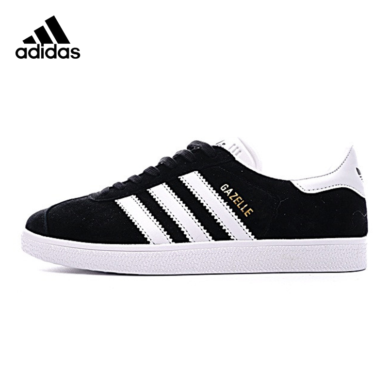 ADIDAS Clover GAZELLE Men's and Women's Walking Shoes , Black, Breathable Non-slip Wear-resistant Lightweight BB5476 кроссовки adidas gazelle d67719