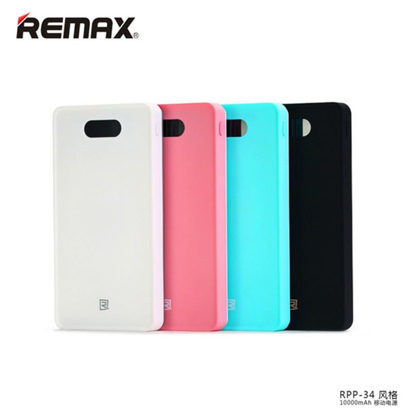 Remax 10000 mah cargador banco portable de la energía banco de potencia estilo g