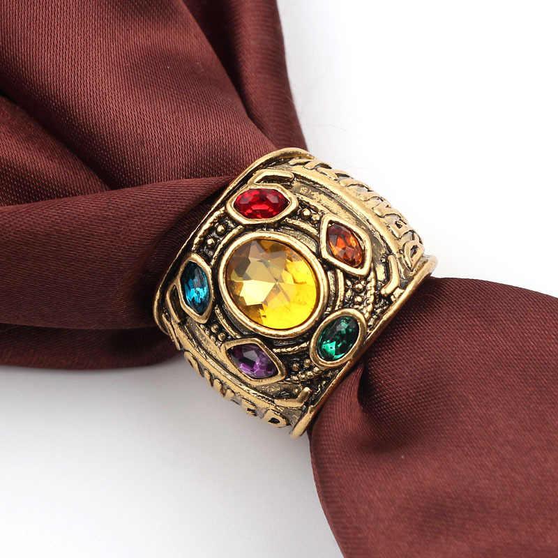 Figura de Ação Vingadores Brinquedos quente Endgame Infinito Guerra Poder Gauntlet Cosplay Liga Anel Fãs da Marvel Thanos Coleção Presentes