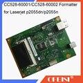 Original CC528-60001 CC528-60002 placa lógica placa madre placa principal para HP laserjet P2055DN 2055DN 2055N Serise impresión