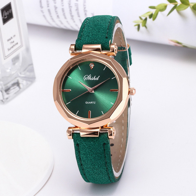 dropshipping Women Watches New Fashion Women Watches Dress Women Wristwatch Leat