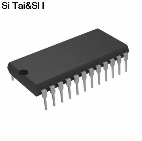 Бесплатная Доставка 10 шт./лот HM6116LP-3 DIP-24 pin DIP 8 высоких Скорость S статического Оперативная память новый оригинальный ...