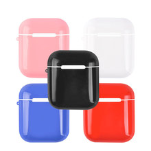 Transparent PC For Apple Airpods Case iPhone Accessories Wireless Bluetooth Earphone Cover Drop-proof Storage Box