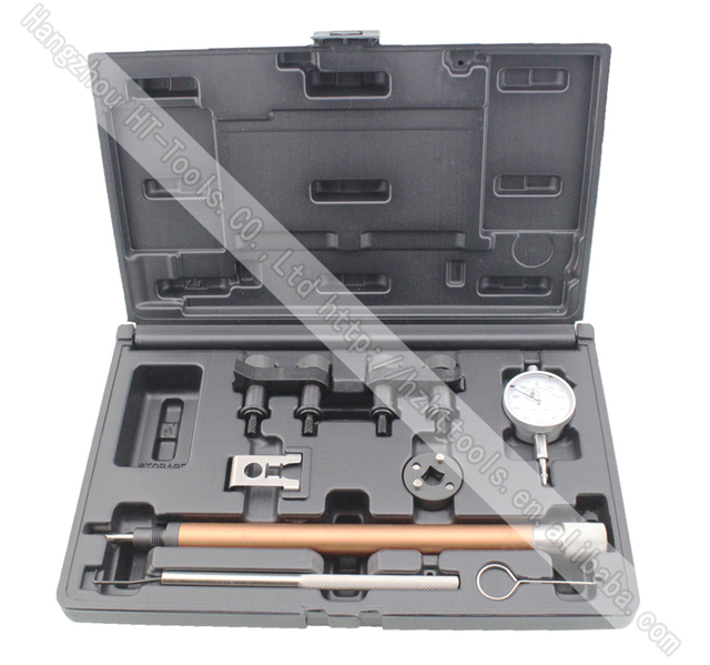 Diesel Fuel Injection Pump Timing Indicator Tool Fuel Pump Timing Set for VW/AUDI/Ford