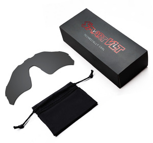 Image 2 - SmartVLT Zonnebril Vervanging Lenzen voor Oakley Radar EV Path Eclipse Grijs Meekleurende