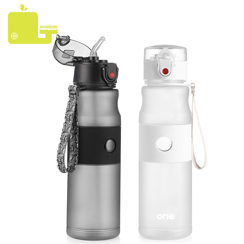 750ml Sport Water Bottles Portable Straw And Direct Drinking Lids My Bottle For Water Leakproof Climbing Hiking Tea Tumbler Good Бутылка