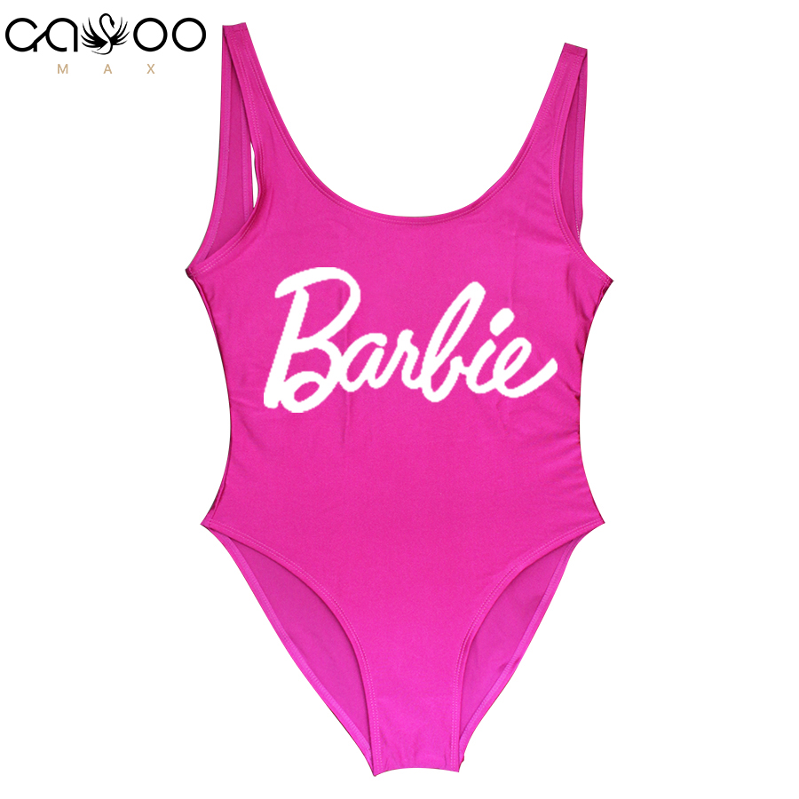Barbie New 2018 Sexy Swimwear One Piece Swimsuit Swimming Bodysuit Beach Bathing Suits Swim Wear sexy one piece swim suits summer 2017 new black skirt style one piece swimsuit sexy high quality beach wear women swimwear slim sexy bathing suits