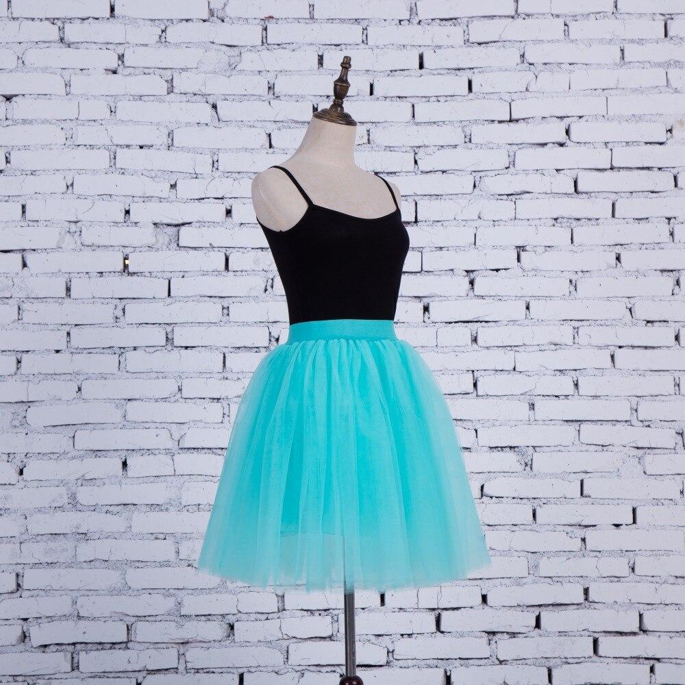 FOLOBE Vintage Style 5 sluoksniai Stock 12 Spalvos Dancewear Ball - Moteriški drabužiai - Nuotrauka 5