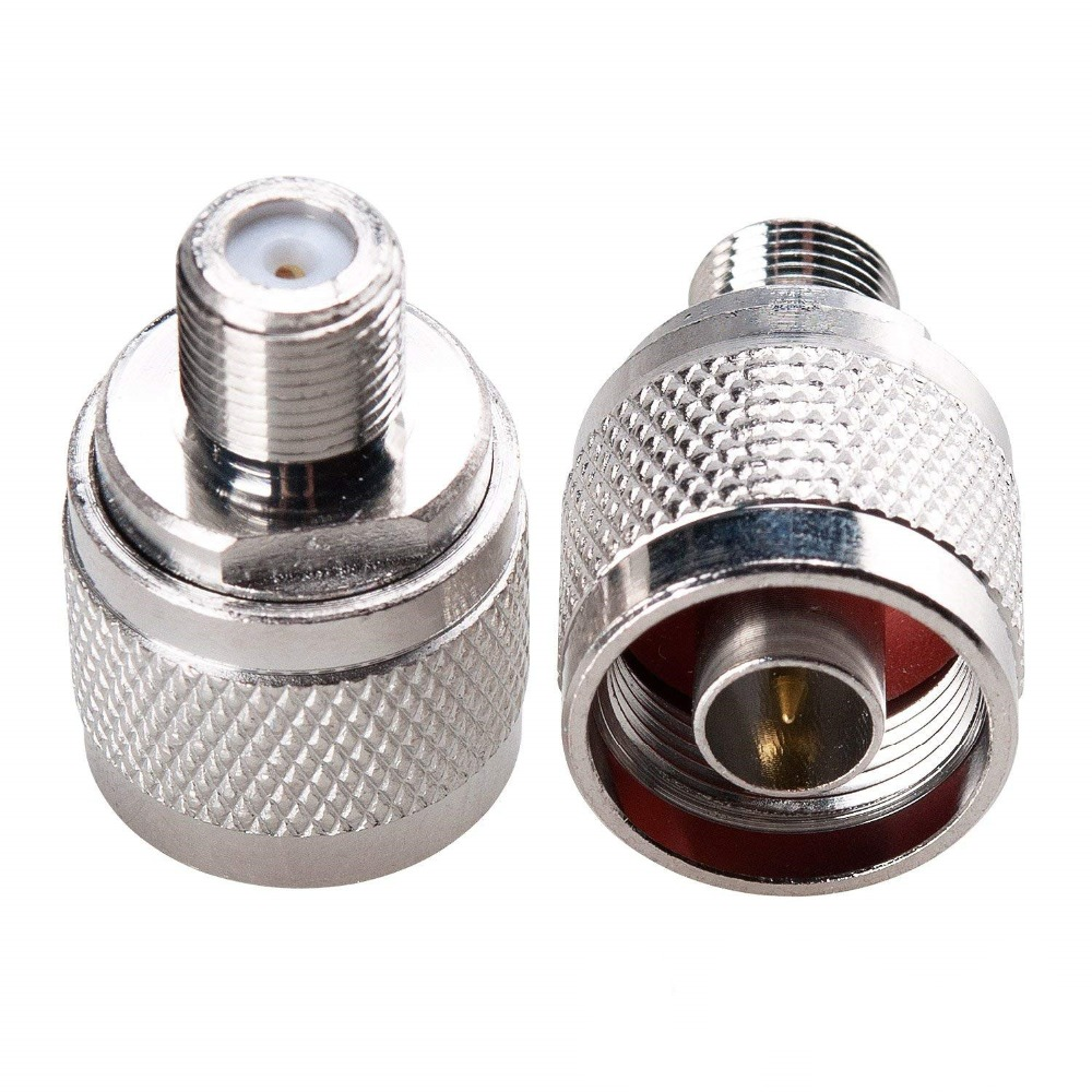1pce N male plug to SMA female jack RF coaxial adapter connector