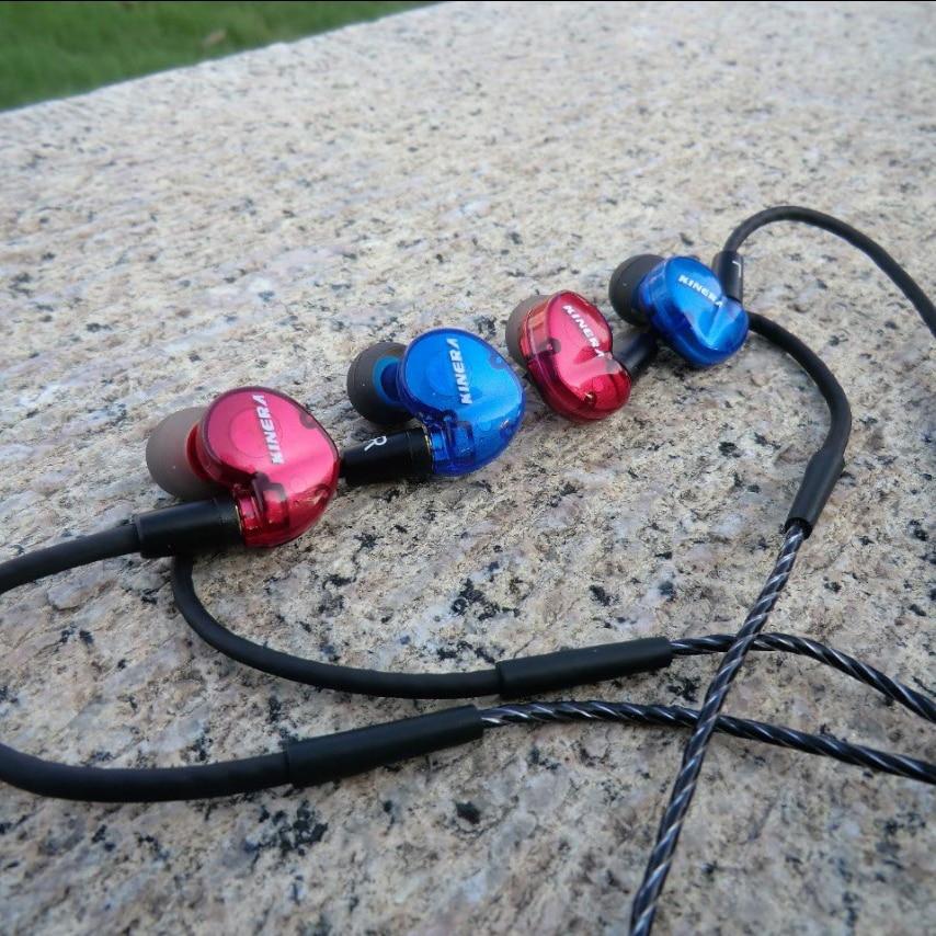 New arrival KINERA BD005 3.5mm In Ear Earphone HIFI Earphone Sport Earphone Monitor Headset Earplug With Mic PK SE215 SE535 new kinera h3 in ear earphone dynamic with 2ba hybrid 6 unit hifi earphone earbud headset monitor earphone with mmcx cable