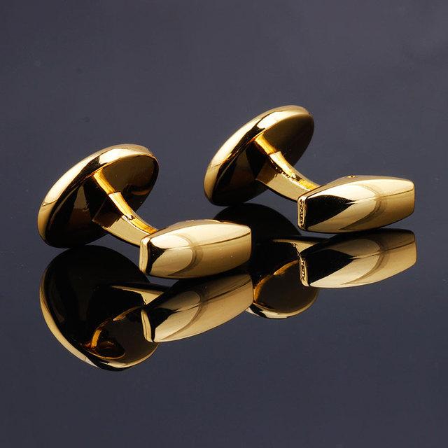 Luksusowa moda czarny okrągły Plated spinki do mankietów Arm przyciski dla kobiet mężczyzn koszule biznesowe spinki do mankietów biżuteria ślubna FPJXZ31 tanie i dobre opinie Ze stopu cynku Tie klipów i spinki do mankietów Mężczyźni TRENDY Symulowane perłowej Metal Gold Rose gold Grey Gold cufflinks