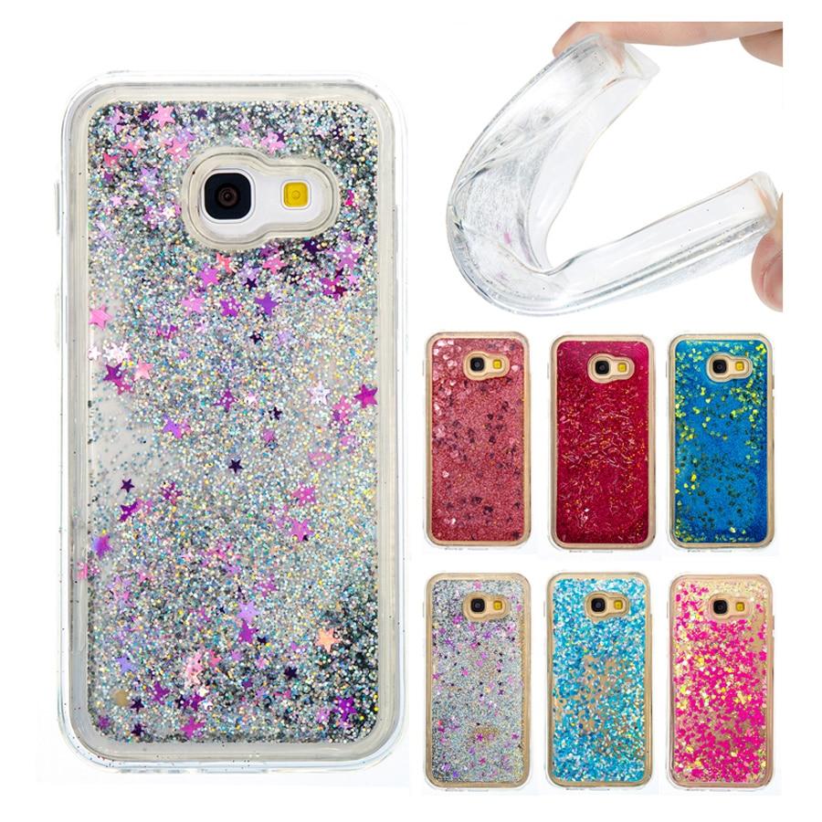 Dashing Shine Bling Glitter Sand Water Quicksand Soft Tpu Phone Case Cover For Samsung Galaxy A3 2017 A320 Liquid Case Capa Coque Fundas Phone Bags & Cases Half-wrapped Case