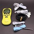 3PCS/Set Electro Shock Sex Toys:Anal Plug,Electric Penis Ring,120mm*6mm Electrical Urethral Sound Muscle Stimulator ES0098