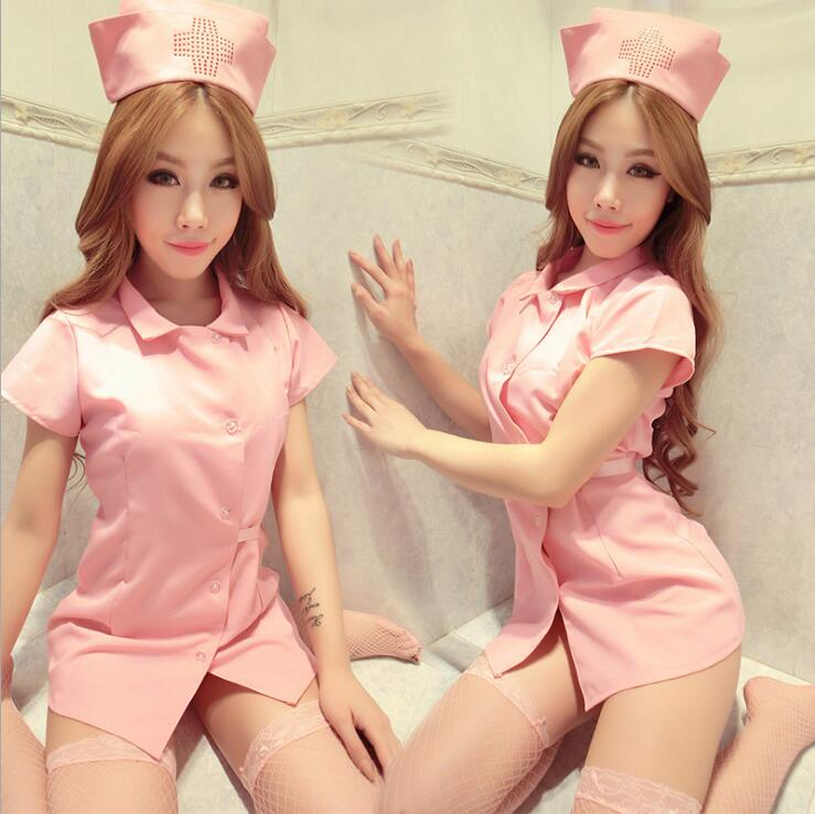 New sexy nurse erotic costumes sexy maid lingerie sexy role play women erotic lingerie sexy underwear games cosplay uniform gift