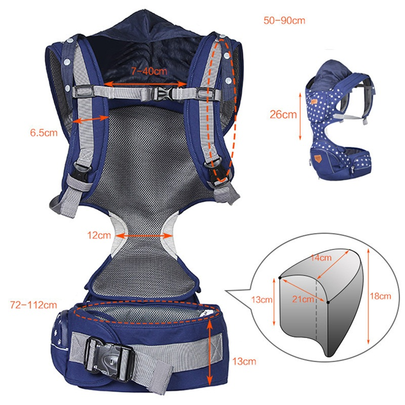 Mambobaby Infant Toddler Hip Seat Portable Baby Carrier Backpack Shoulders Carry Newborn Front Carry Breathable Cotton Sling 2016 four position 360 baby carrier multifunction breathable infant carrier backpack kid carriage toddler sling wrap suspenders
