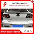 Горячая продажа ABS праймер черный белый красный цвет и т. д. задний спойлер для Mazda 3 M3 2006 2007 2008 2009 2010 2011 2012 спойлер для автомобиля
