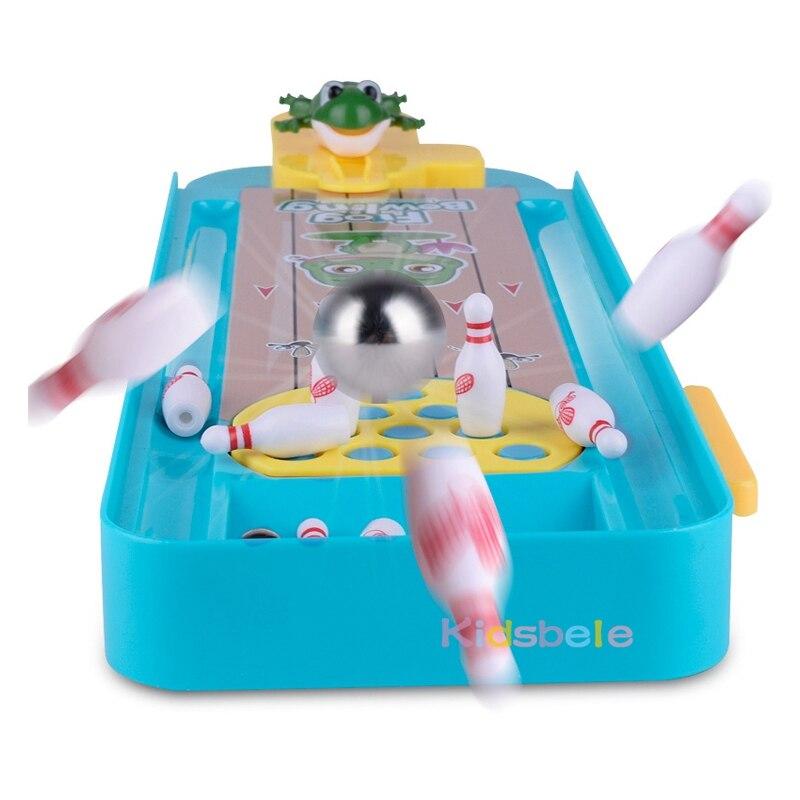 Mini desktop jogo de boliche brinquedo engraçado