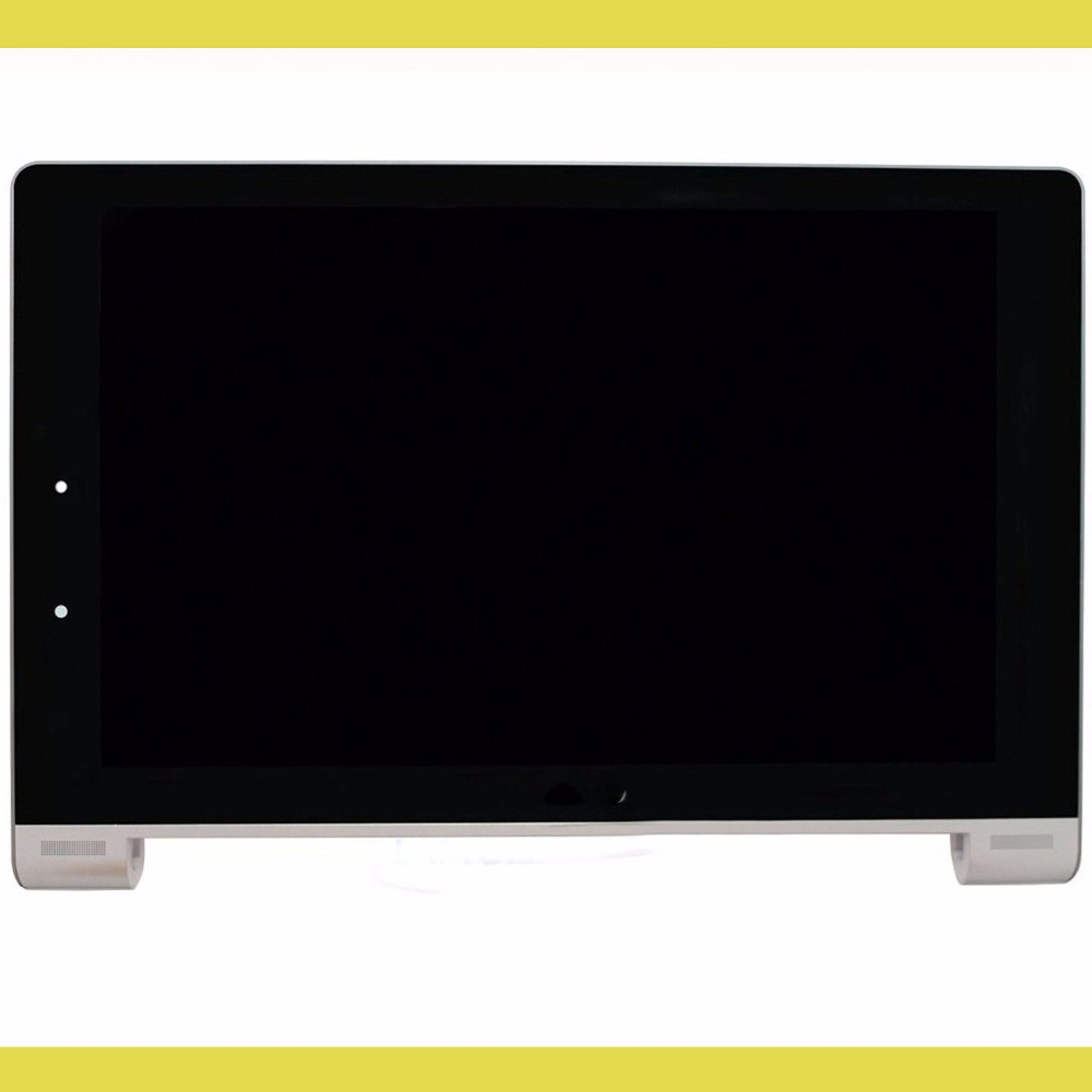For Lenovo IdeaTab Yoga 10 B8000 LCD Display Panel Screen Touch Screen Digitizer Glass With frame Replacement Repairing Parts new 8 inch case for lenovo ideatab a8 50 a5500 a5500 h lcd display touch screen digitizer glass sensor panel replacement