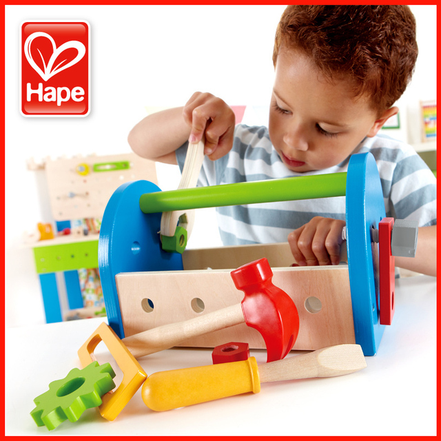 Aliexpress.com : Buy Hape tool box male child educational ...