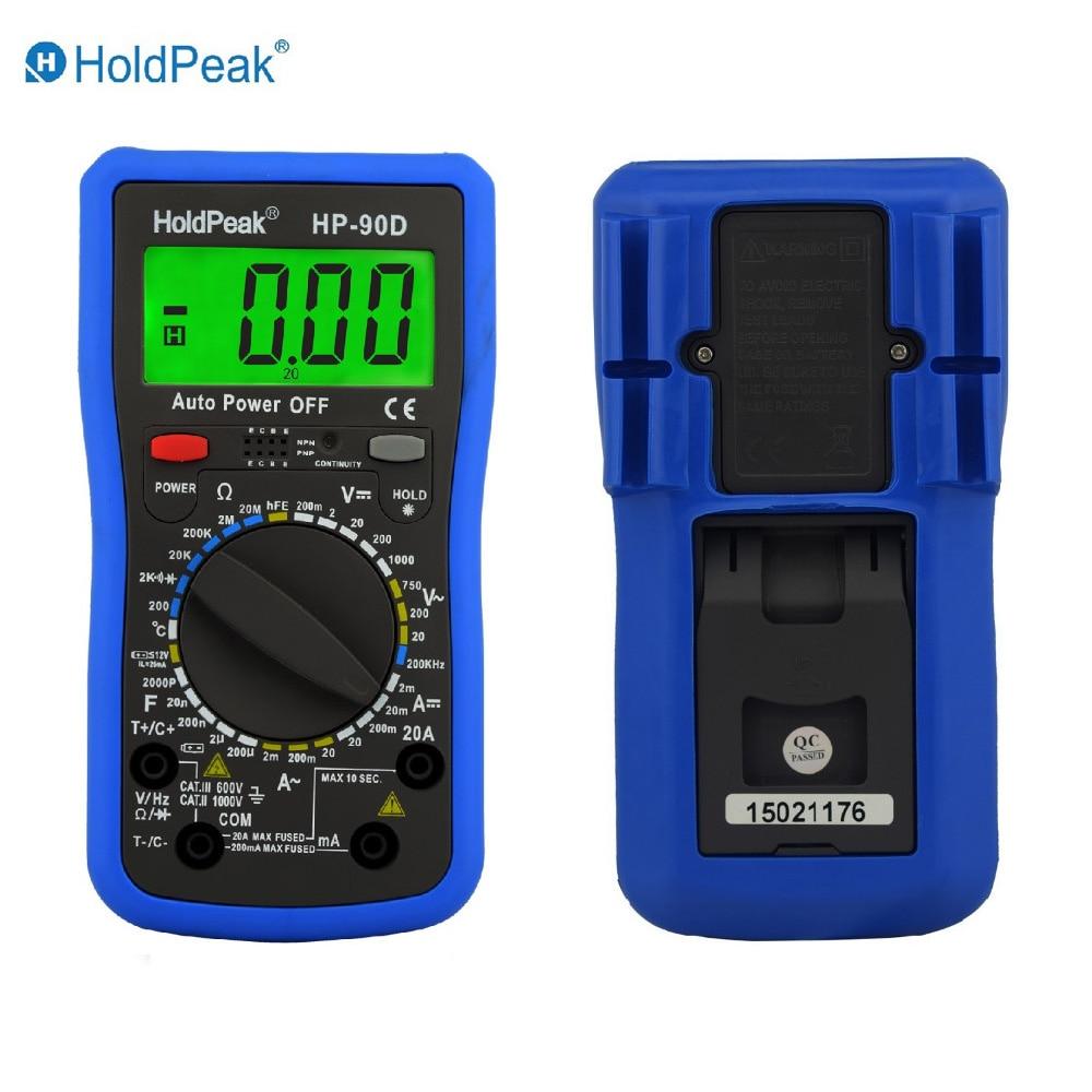 Digital Multimeter 20a 1000v : Aliexpress buy multimetro digital holdpeak hp d