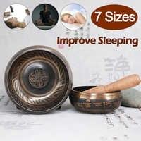 Tibetan Yoga Meditation Buddhist Sound Therapy Bowl Nepalese Buddhist scriptures Tibetan Bowl Sing Bowl Sound therapy