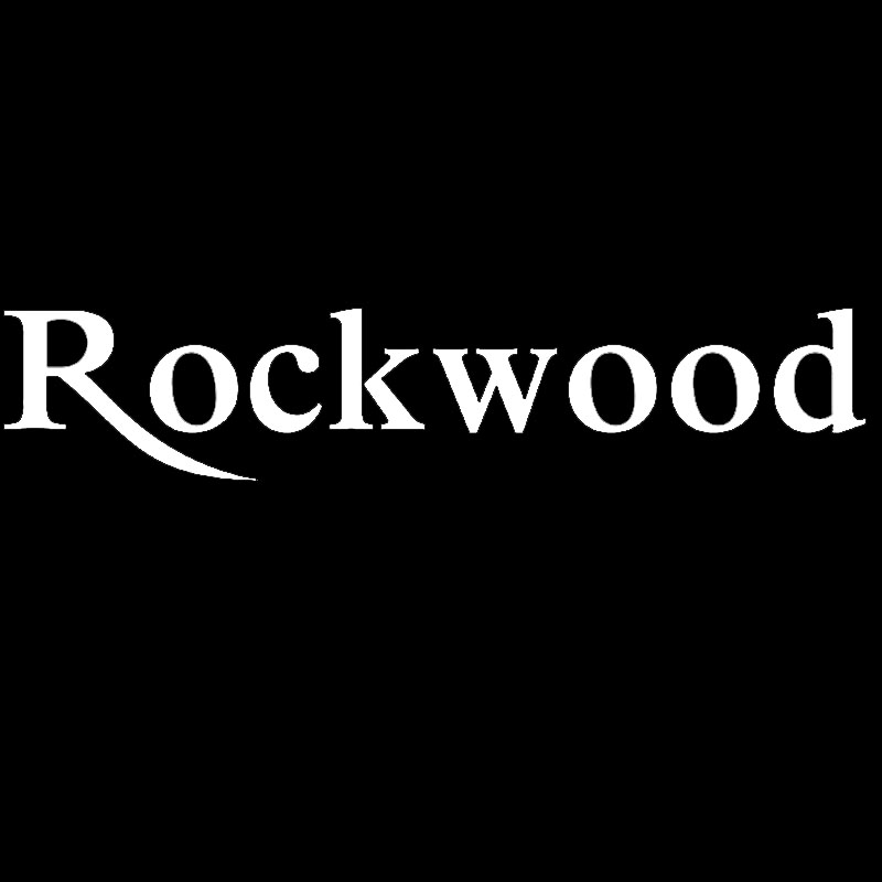 HotMeiNi ROCKWOOD Beautiful Personalized Letter Art Car Stickers for Camper Trailer Truck Rear Windshield Vinyl Decal Happy Life