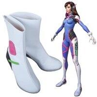 D.Va DVa Hana Song Cosplay Costume high heeled boots