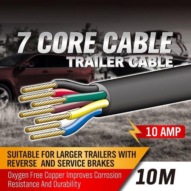 SEDY 10 Mt 7 Core Anhänger verdrahtung Kabel stecker kernwerkzeug ...