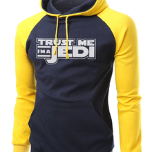 Movie I'm A JEDI Print Hipster Hoodies Men 2019 Autumn Winter Fleece Loose Fit Sweatshirt Men Raglan Hoodie Brand Clothing S-XXL