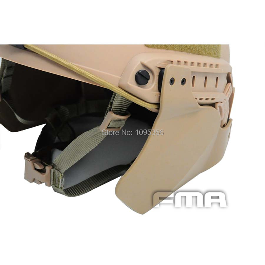 FMA Side Cover For Helmet Rail TB296 DE