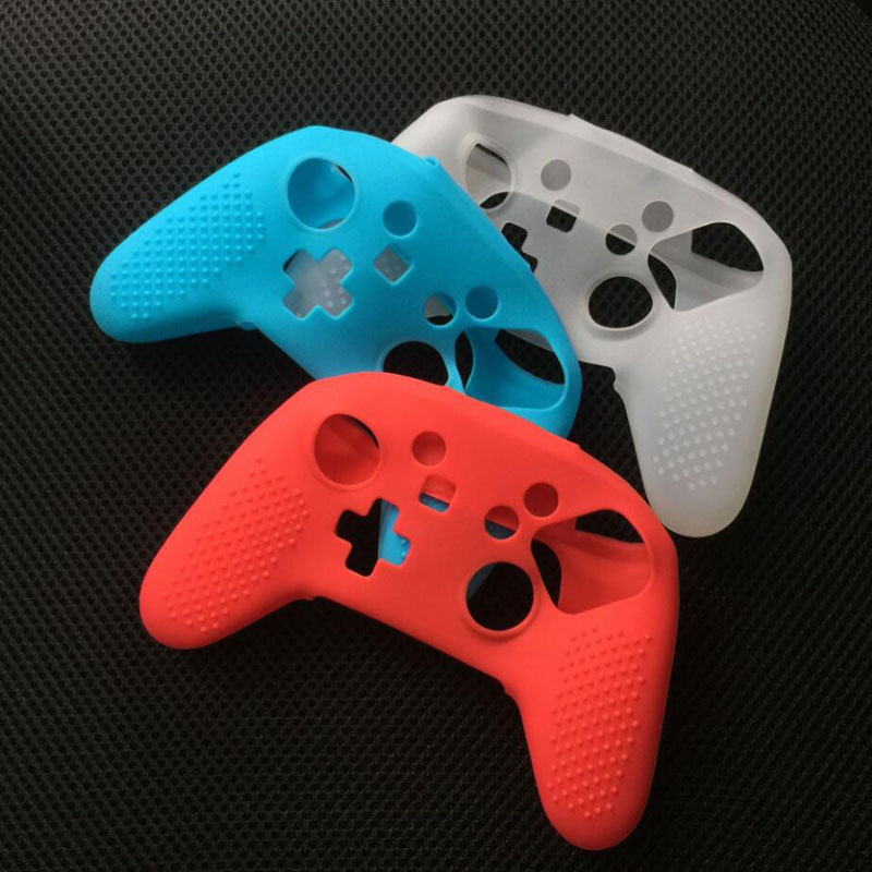 Newest Anti slip Silicone font b Gamepad b font Joypad Rubber Protective Skin Cover Case For