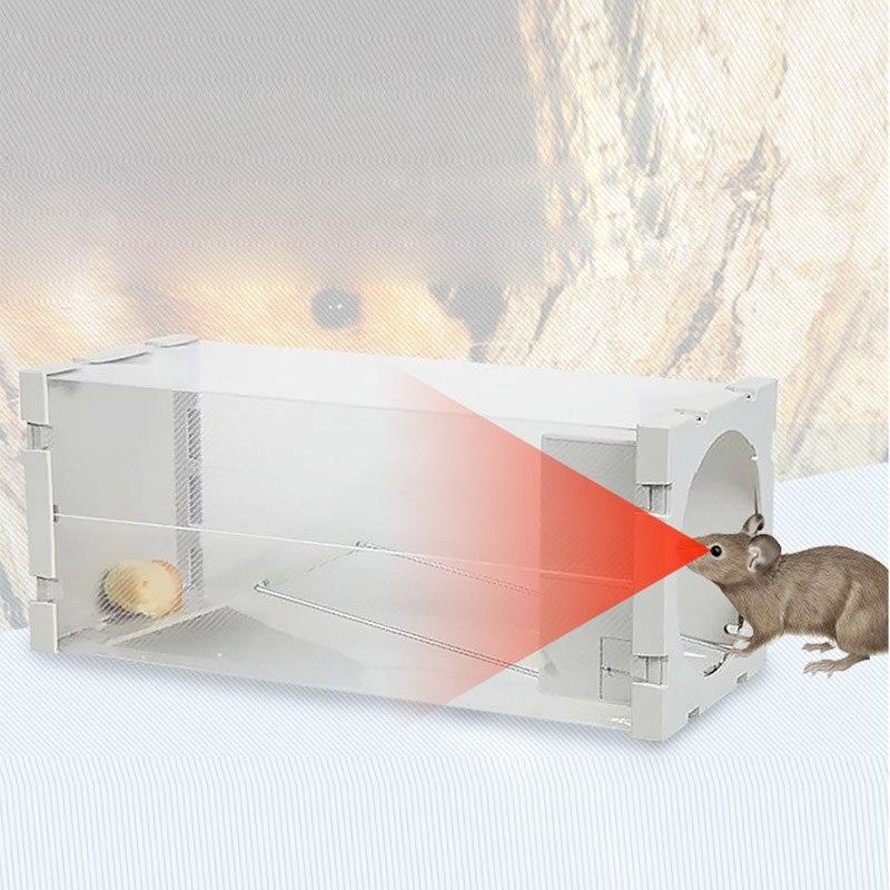 Пластик Мышь ловушка ловить клетке Мышь ловушку крыса клетка Мыши компьютерные Управление Поймать приманка хомяк Мышь бытовой клетка Инструменты Борьба с вредителями