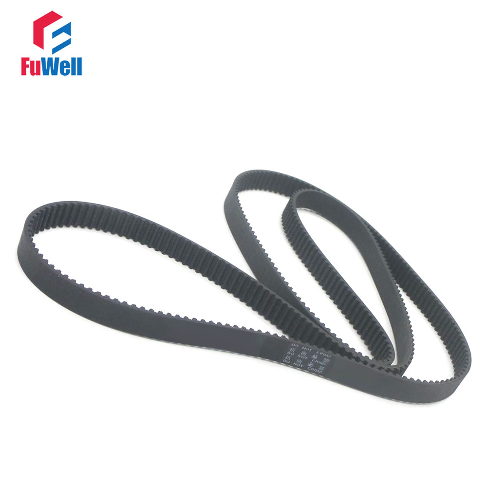 HTD 3M Timing Belt 1677/1800/1863/1980/2040/2388/2640/3600 3M Rubber Toothed Belt Closed Loop 15mm Width Transmission Belt-in Transmission Belts from Home Improvement