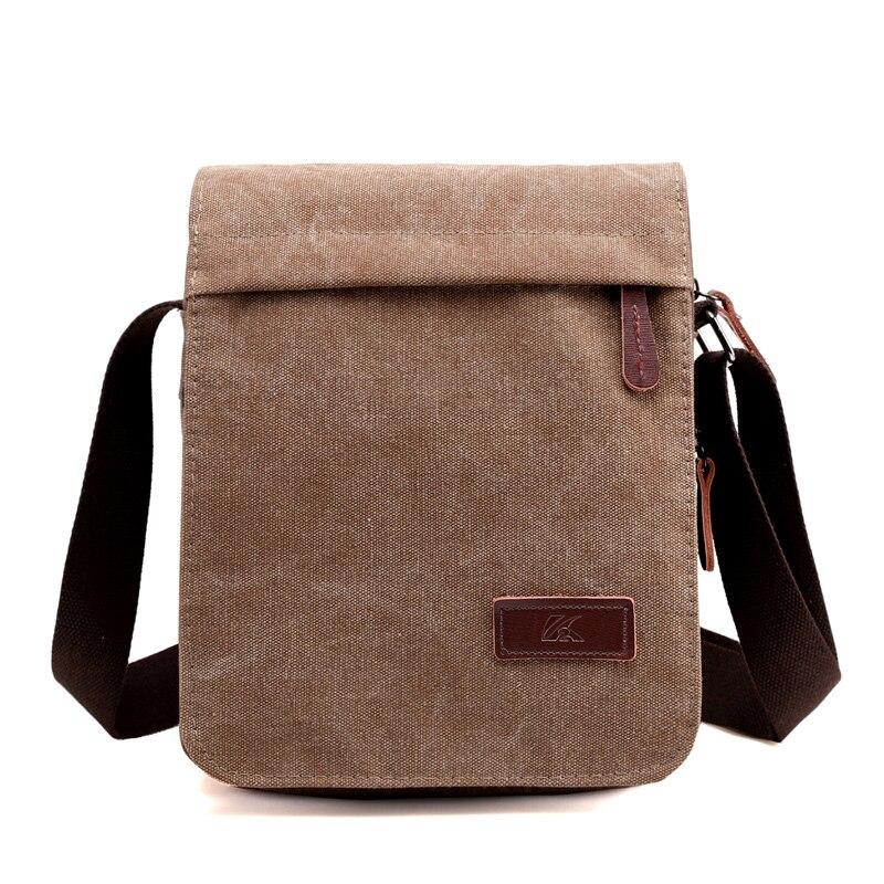 eec64f1a8d New 2018 Design Men Canvas Messenger Bag High Quality Casual Handbags  Satchels Crossbody Shoulder Bags Military ...