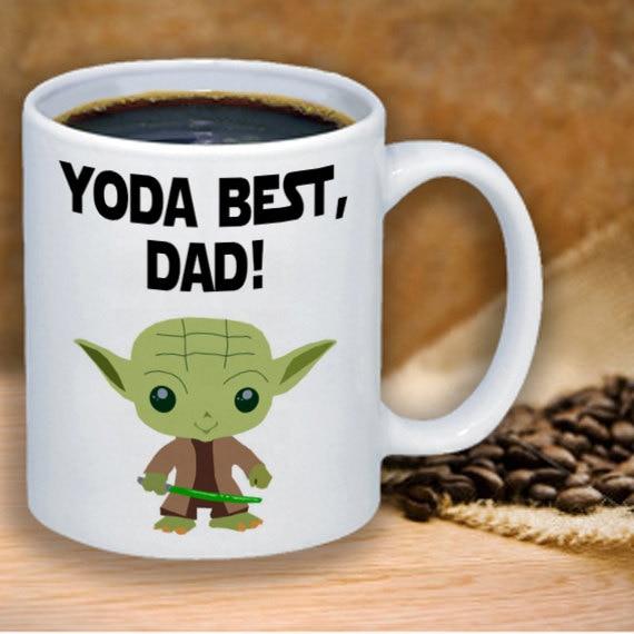Star Wars Tassen Yoda Tassen Tee Bier Abziehbild Magie Geburtstag