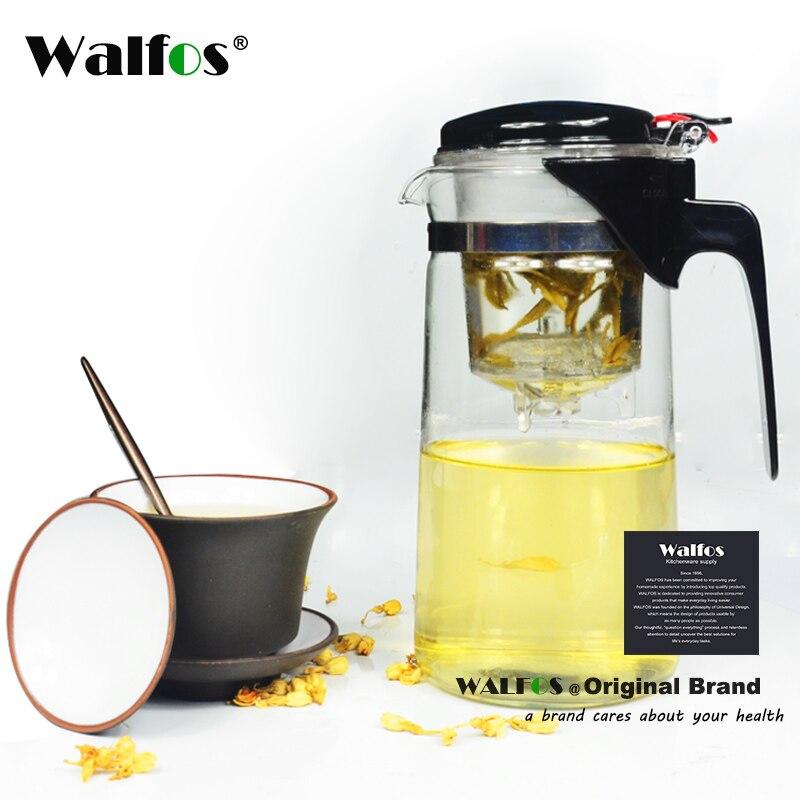 300 / 500 / 750 / 900ml Heat-resistant Glass Teapot Flower kettle Puer Herbal Pot Microwavable Stovetop Safe Tea Pot Onsale Teaw