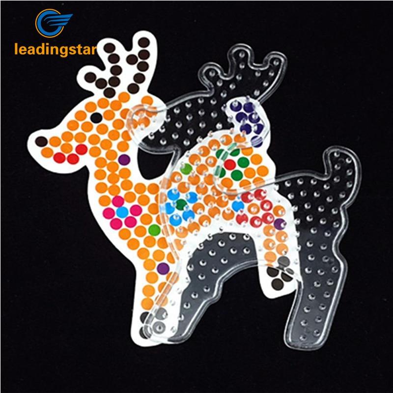 Leadingstar 8 шт./компл. 5 мм Малый Пластик головоломки шаблон pegboard игрушка с Цвет Бумага для DIY Форма zk30