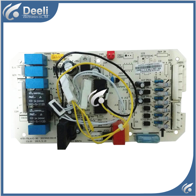 98% new good working for air conditioning accessories pc board motherboard KFR-75LW/E-30 KFR-120W/S-520 S-590 S-510 on sale 100% tested for washing machines board xqsb50 0528 xqsb52 528 xqsb55 0528 0034000808d motherboard on sale