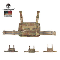 EMERSON Modular Rife Leg Panel Accessary Bag and Drop Leg Magazine Panel Platform Set Nylon Molle military combat gear