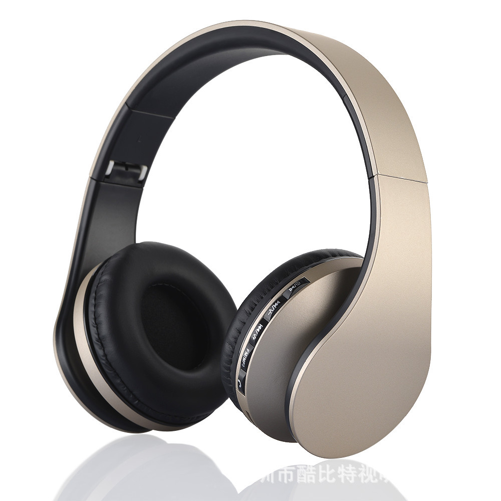 High Fidelity Surround Sound Noise Cancelling Wireless Stereo Bluetooth3.0+EDR Headphone Headset With Mic FM radio TF SM818 ovleng s77 wireless stereo headphone bluetooth headset foldable handsfree noise cancelling mic for iphone 7 plus galaxy htc sony