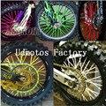 So Cool Universal Motocross Motor Dirt Bike Enduro Off Road Wheel Rim Spoke Shrouds Skins Covers For CB400 FZ16 YBR125 GN125
