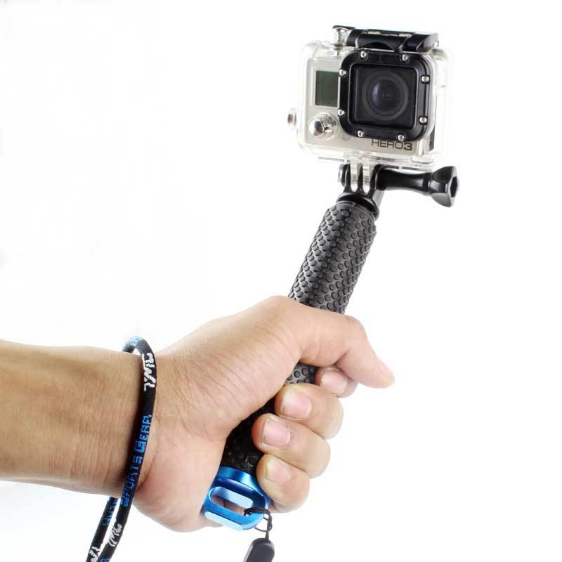 Selfiestick High quality monopod for gopro 4 3 3+ 2 SJ4000 Action camera Handheld self Selfie Sticks for sports camera Accessory