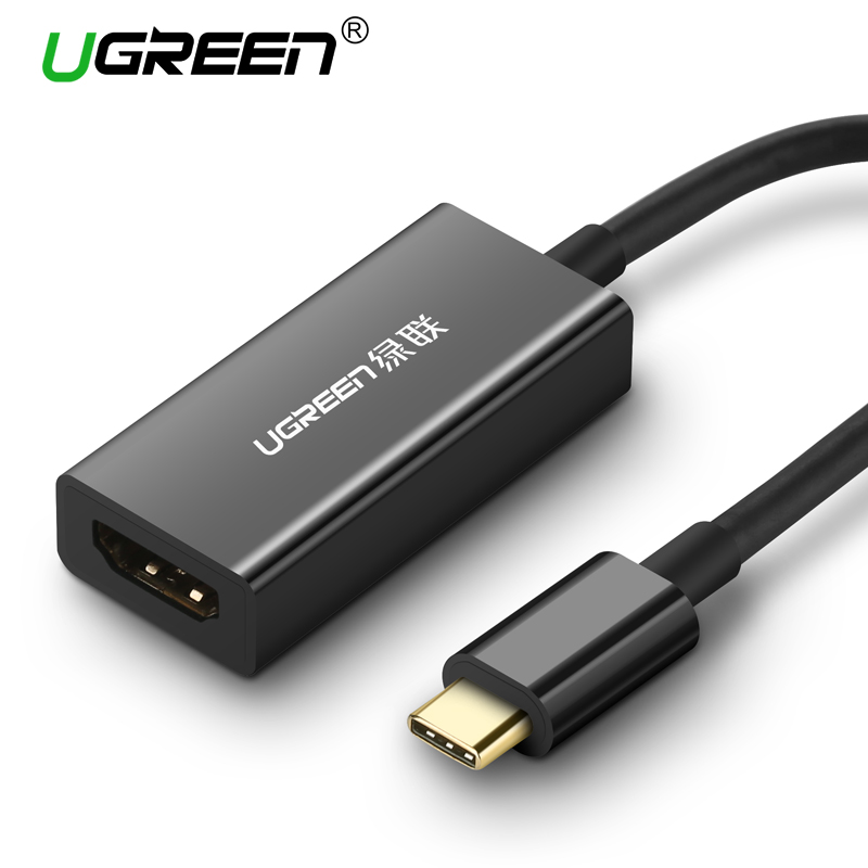 Ugreen USB Type-C HDMI Cable 4K Ultra HD USB C HDMI Male to Female for MacBook Samsung Galaxy S9 Huawei P20 Pro USB-C HDMI