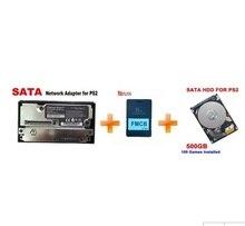GameStar сетевой адаптер для PS2 + 1 ТБ SATA жесткий диск установлен 200 игр + 8 Мб бесплатно Загрузочная карта памяти для PS2