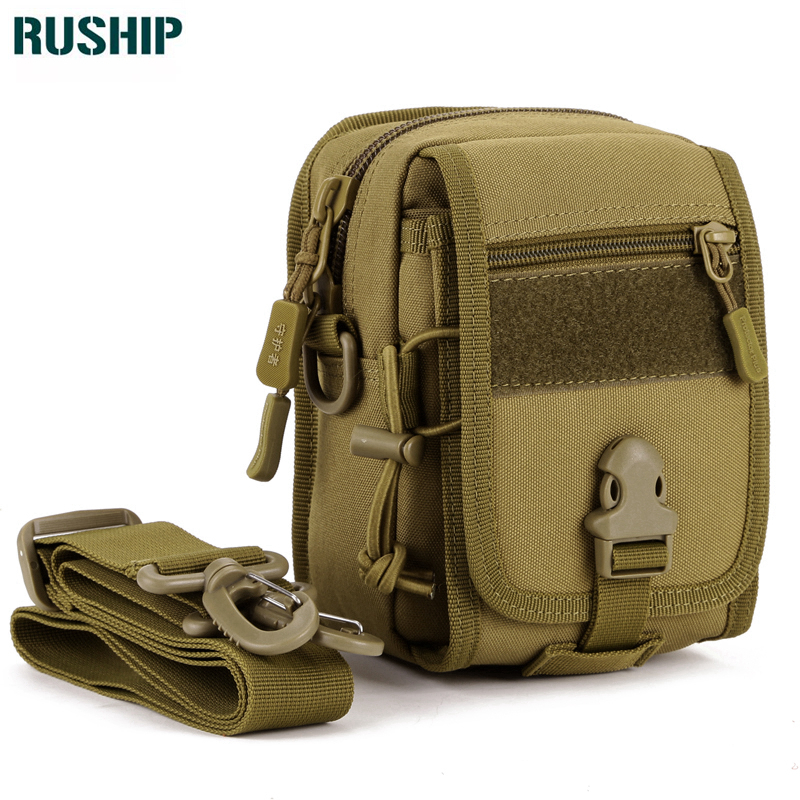 Military Leisure Men's Bags High Quality Nylon Shoulder Bag Army Small Pack MOLLE System Men Handbag Free Shipping casual canvas women men satchel shoulder bags high quality crossbody messenger bags men military travel bag business leisure bag
