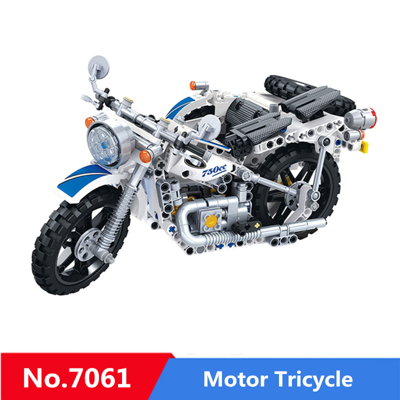 550pcs Diy Building Blocks Hot Technic Motorbike Sidecar Motorcycle Toy Compatible with Legoingly Toys For Children Kids Gifts550pcs Diy Building Blocks Hot Technic Motorbike Sidecar Motorcycle Toy Compatible with Legoingly Toys For Children Kids Gifts