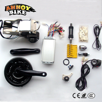 Dome E bike kit 48v 450w 600w Mid Drive E bike Conversion Kit 3 speed BLDC HIgh Torque Gear Motor Kit For Bike MTB Long Drive