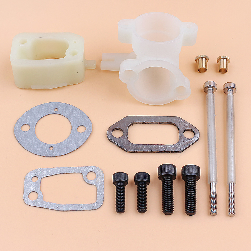 Carburetor Bolt Intake Manifold Gasket Muffler Screws Kit Fit Husqvarna 61 268 272 Chainsaw Parts